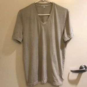 MEN James Perse V-neck T-shirt